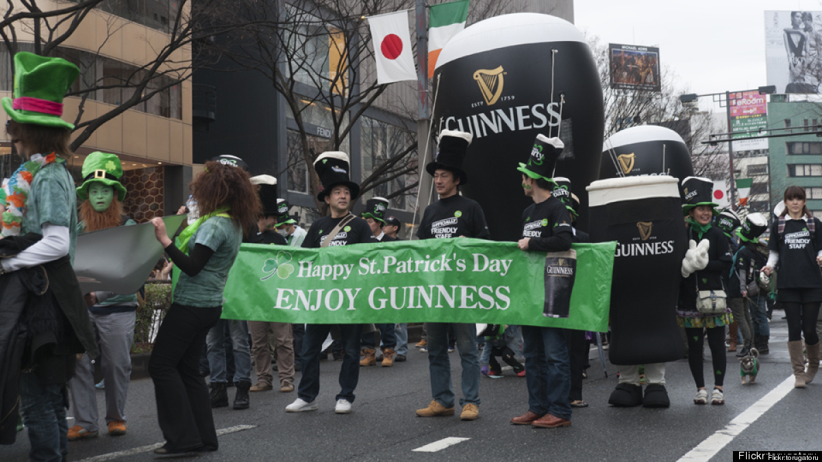 The 22nd Tokyo St. Patrick's Day Parade will be held March 16 in the Harajuku area. It's Asia's largest St. Patrick's Day par