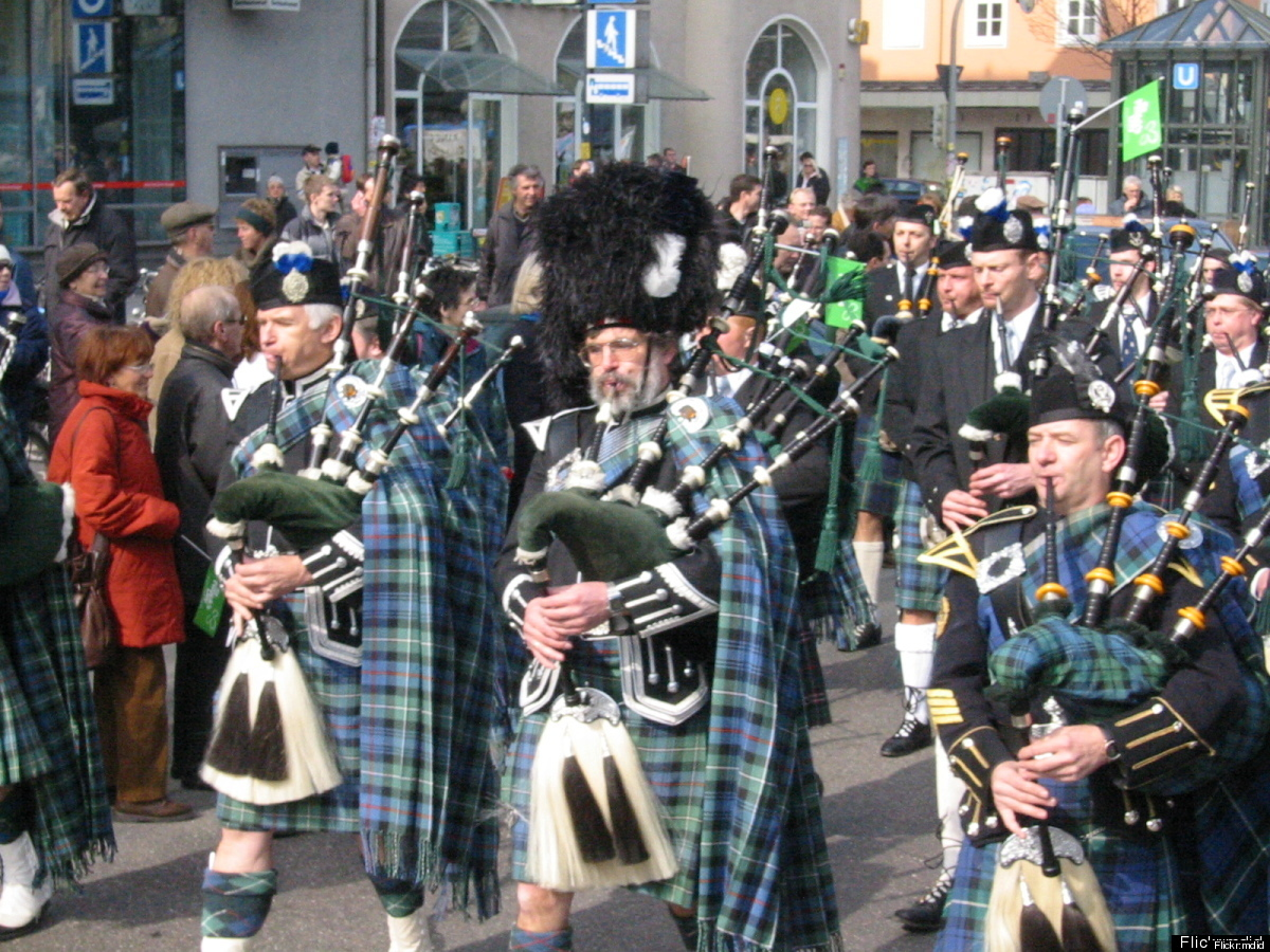 It's fitting that the home of Oktoberfest should have a rocking St. Patrick's Day party too. There's been a parade in Munich