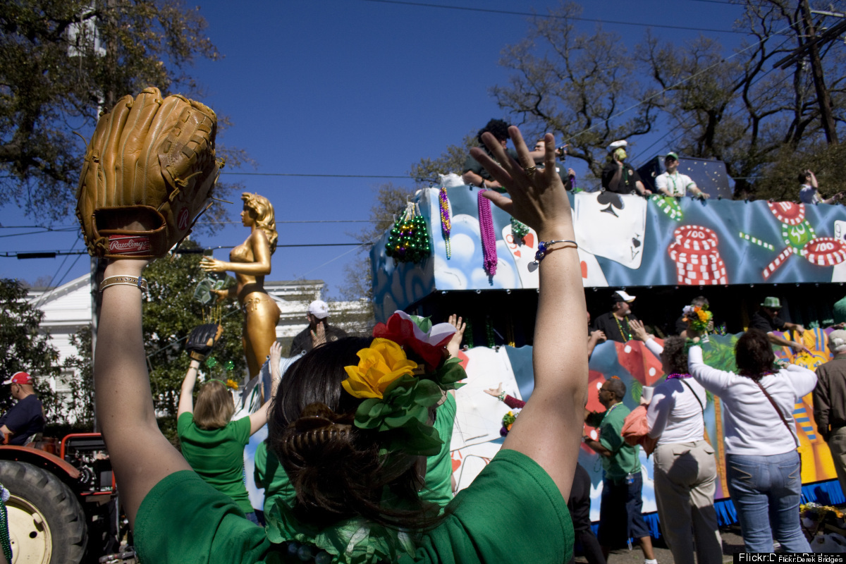 The St. Patrick's Day festivities in New Orleans run March 13-23. The city's Irish heritage stretches back to the 1840s, and
