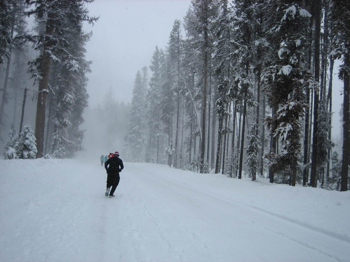 <strong>Location:</strong> Seeley Lake, Montana <strong>Date:</strong> mid-February <strong>Distance:</strong> half marathon