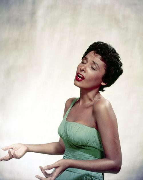 Lena Horne, photographed as she sang by Philippe Halsmann in 1954. Photo: Magnum Photos
