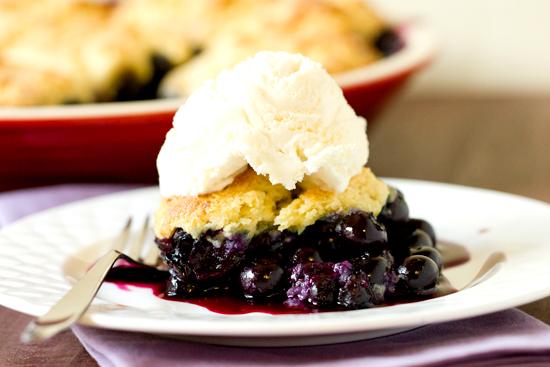 "<strong>Get the <a href=""http://www.browneyedbaker.com/2012/07/25/blueberry-cobbler-recipe/"" target=""_blank"">Blueberry Cobble"