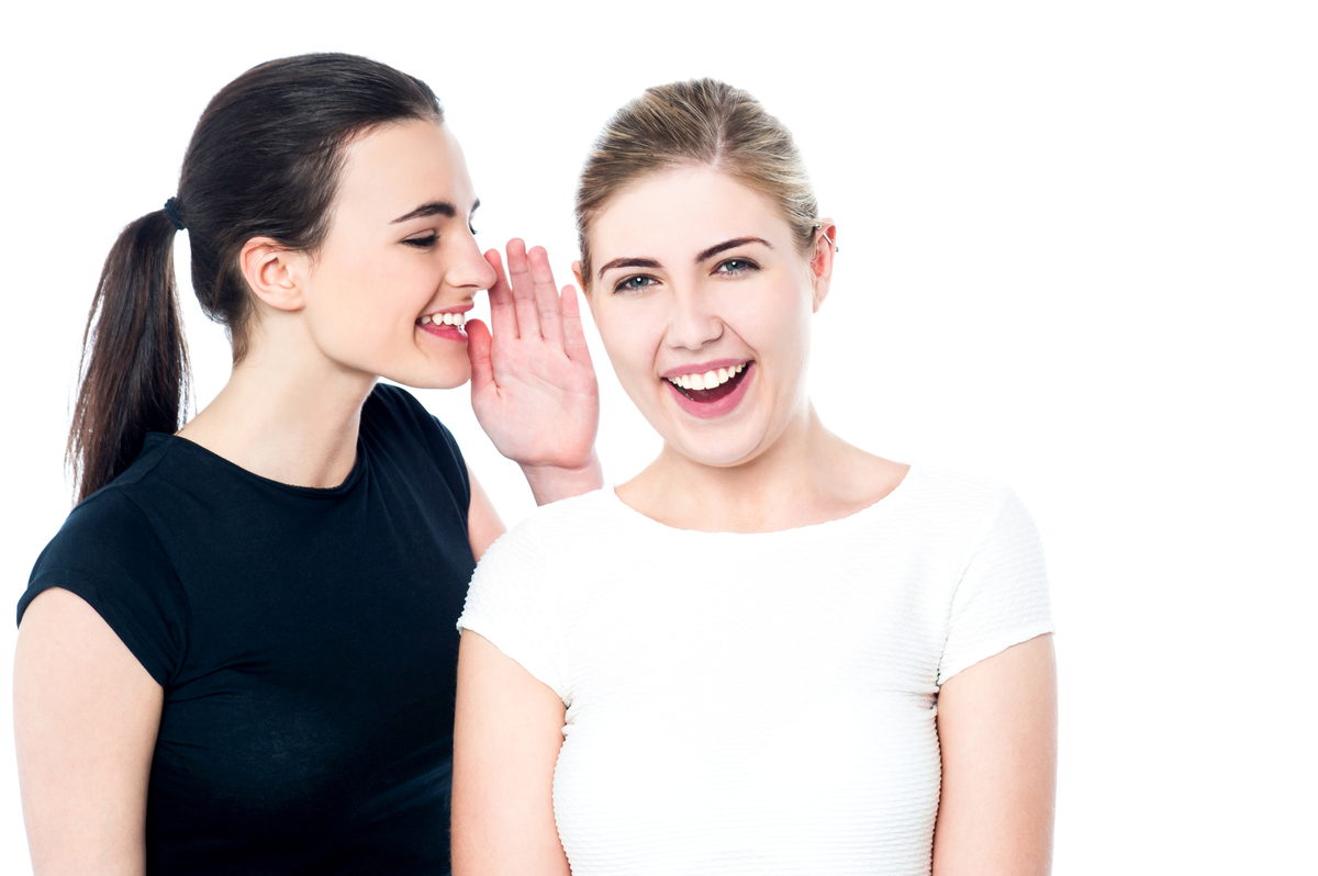 """The threat of gossip makes us behave more generously. """"The more generous and moral among us are most likely to pass on rumour"""