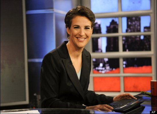 MSNBC's all-star, a Stanford graduate, studied political science at Oxford.
