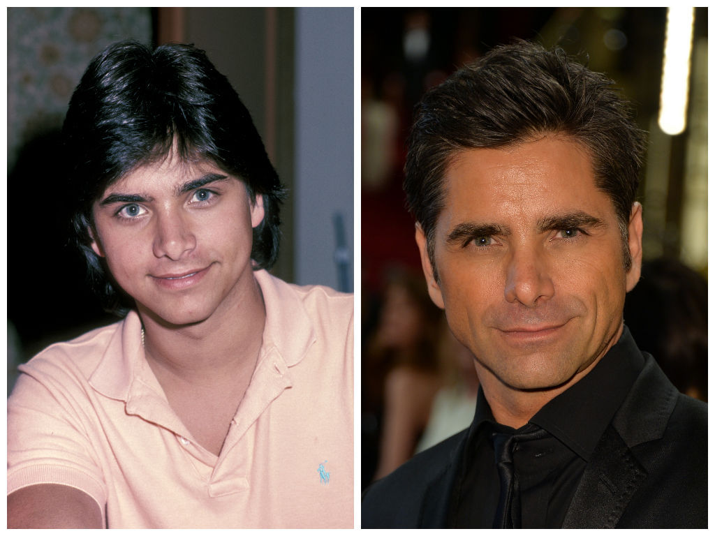 "Stamos first appeared on the Hollywood scene as the hunky Blackie Parrish on hit soap ""General Hospital,"" before he landed hi"