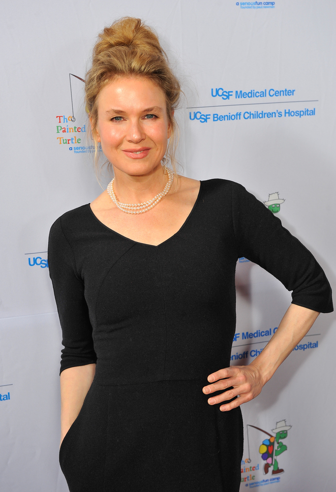 SAN FRANCISCO, CA - MARCH 10: Renee Zellweger attends the UCSF Medical Center and The Painted Turtle Present A Starry Evening