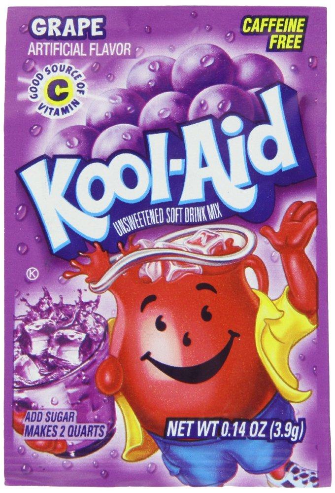 """Hey, <a href=""http://www.amazon.com/Kool-Aid-Grape-Unsweetened-0-14-Ounce-Packets/dp/B001IZHZR2/ref=sr_1_1?s=grocery&ie=UTF8"