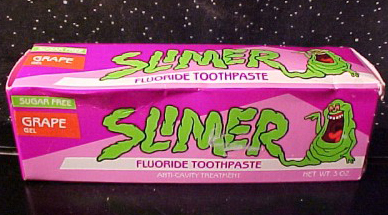 Actually, it still tasted awful. But this Ghostbusters-inspired toothpaste is hard not to appreciate, at least for its nostal