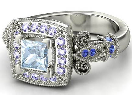these frozen inspired engagement rings are for diehard fans only - Disney Inspired Wedding Rings