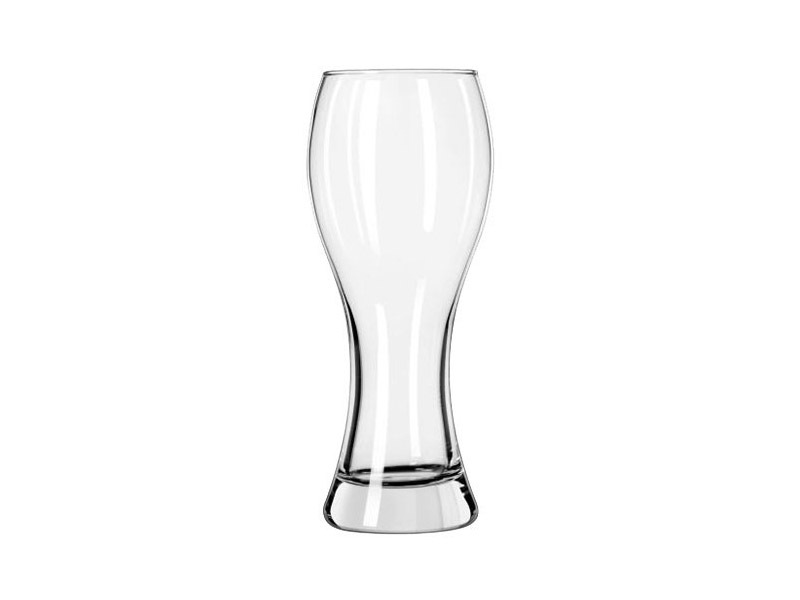 The weizen glass is best used to serve wheat beer. It's a German glass that's narrow at the bottom and wider at top.