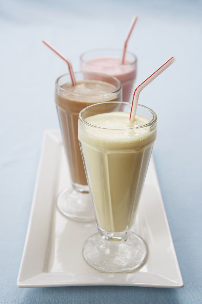 A milkshake is just milk and syrup. Don't even try to argue with us on this one.