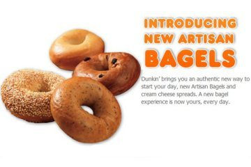 Thanks Dunkin' for deciding to stop serving us fake bagels.