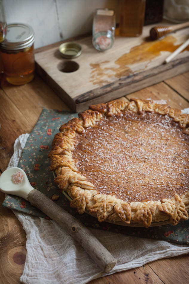 """<strong>Get the <a href=""""http://www.adventures-in-cooking.com/2013/09/salted-rose-honey-pie.html"""" target=""""_blank"""">Salted Rose"""