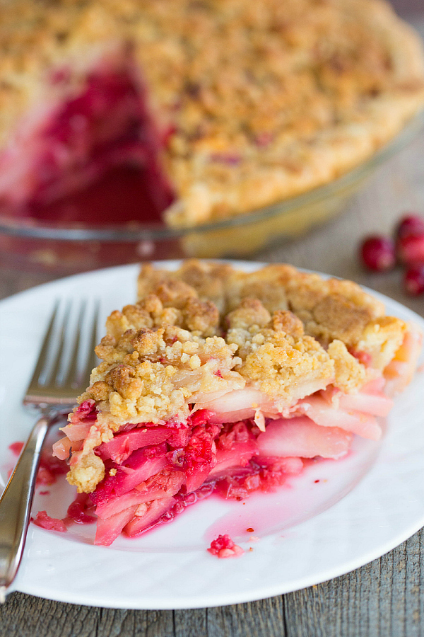 """<strong>Get the <a href=""""http://www.browneyedbaker.com/2013/11/21/cranberry-ginger-pear-pie/"""" target=""""_blank"""">Cranberry-Ginge"""