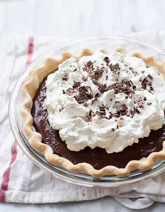"""<strong>Get the <a href=""""http://www.foodiecrush.com/2013/05/laurens-latest-chocolate-cream-pie/"""" target=""""_blank"""">Chocolate Cr"""