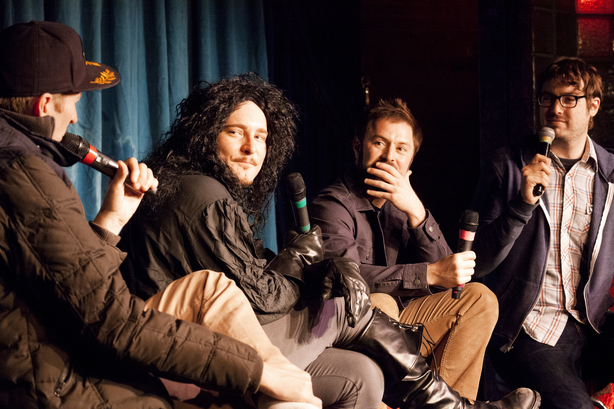 """<a href=""""http://schedule.sxsw.com/2014/events/event_CE00011"""" target=""""_blank"""">Comedy Bang! Bang! Live Podcast Recording,</a> M"""