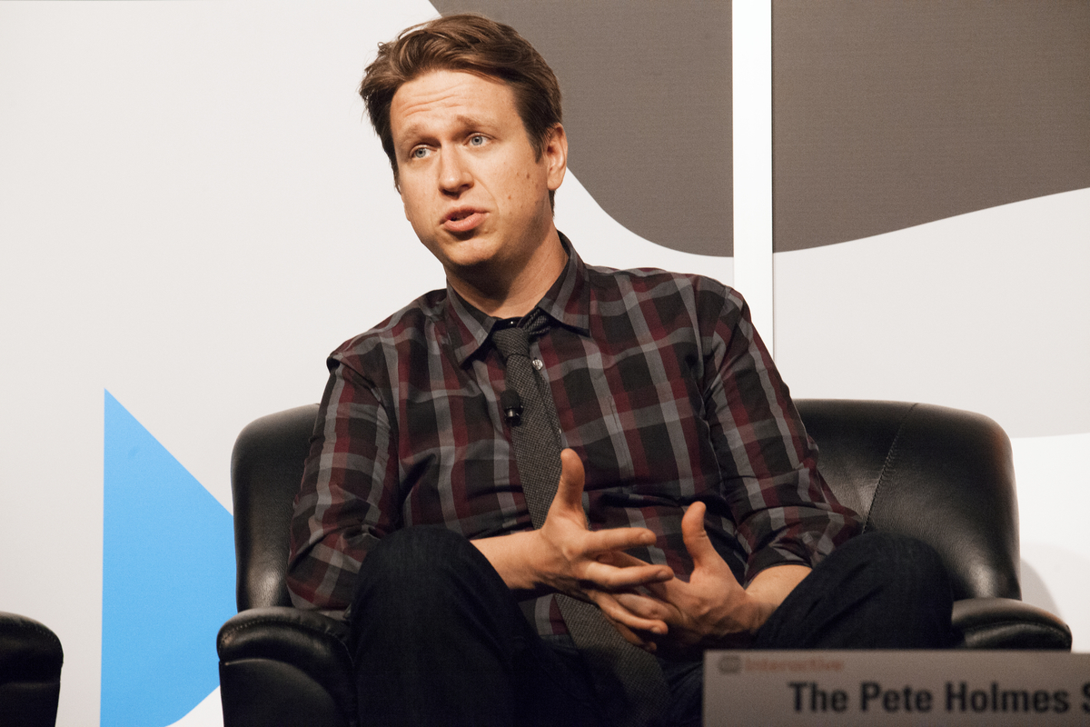 """<a href=""""http://schedule.sxsw.com/2014/events/event_IAP28325"""" target=""""_blank"""">'The Pete Holmes Show' Makes It Weird Panel,</a"""