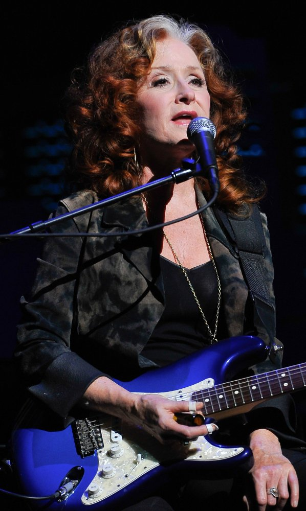 Bonnie Raitt turned in one of the most powerful performances of the evening. Somehow her voice just improves with the years.