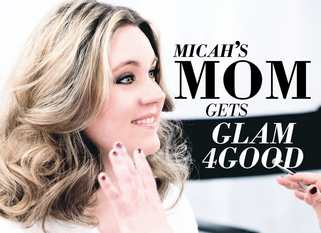 Elissa Gaus's son Micah is a pediatric brain tumor patient. Elissa was nominated for a day of GLAM4GOOD pampering by the <a h