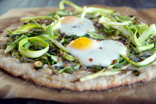 """<strong>Get the <a href=""""http://www.wildgreensandsardines.com/2013/04/sourdough-pizza-with-green-garlic-and.html"""" target=""""_bl"""