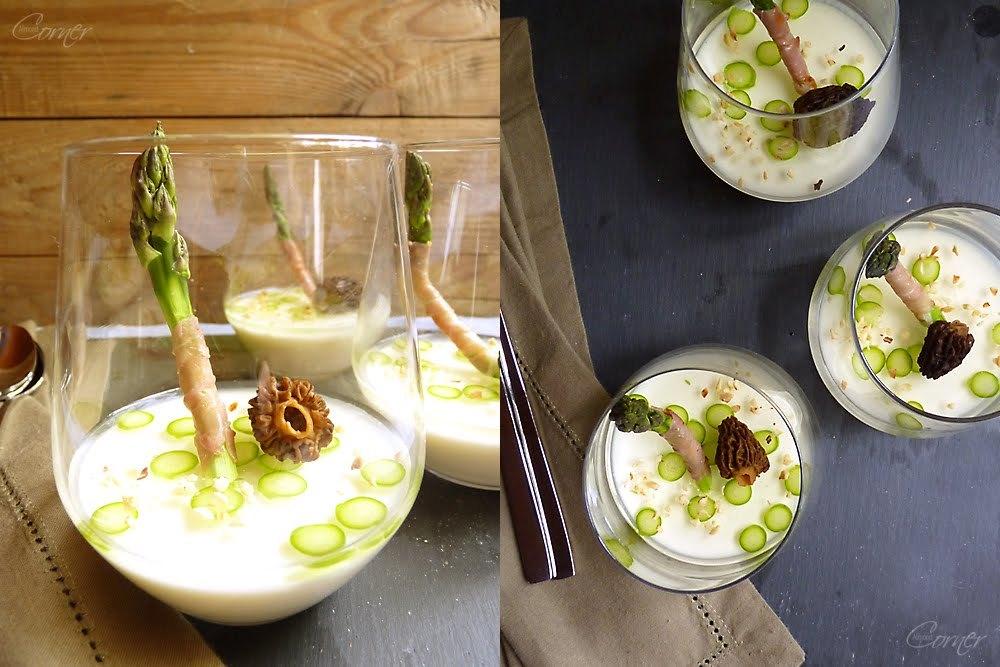 "<strong>Get the <a href=""http://almondcorner.blogspot.com/2011/05/white-asparagus-panna-cotta.html"" target=""_blank"">White Asp"