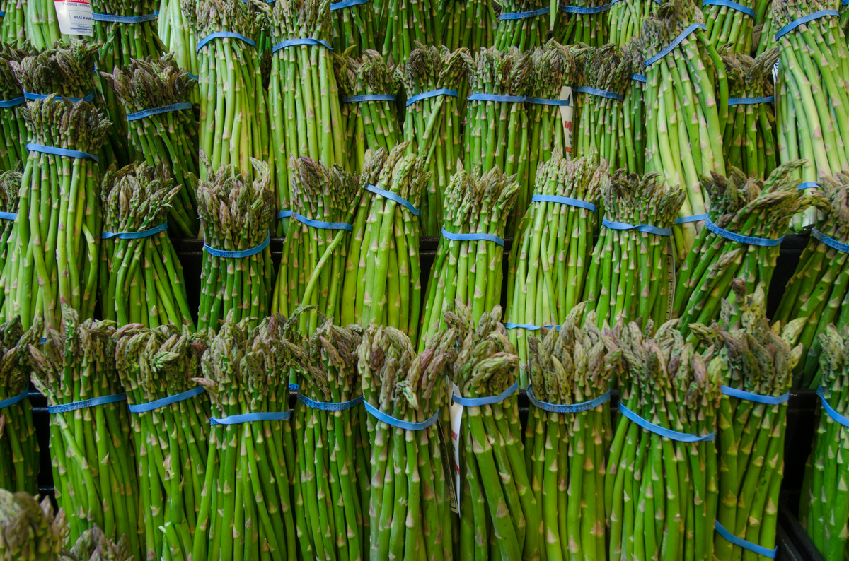 """""""Like daffodils, the reemergence of asparagus at the local farmer's market announces to me that spring is on its way. <br><br"""