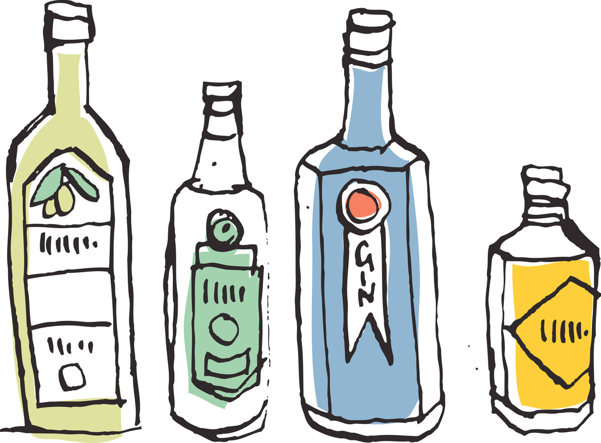 Gin is pretty much just flavored vodka -- but the best kind possible. While juniper berry is the most popular and predominant