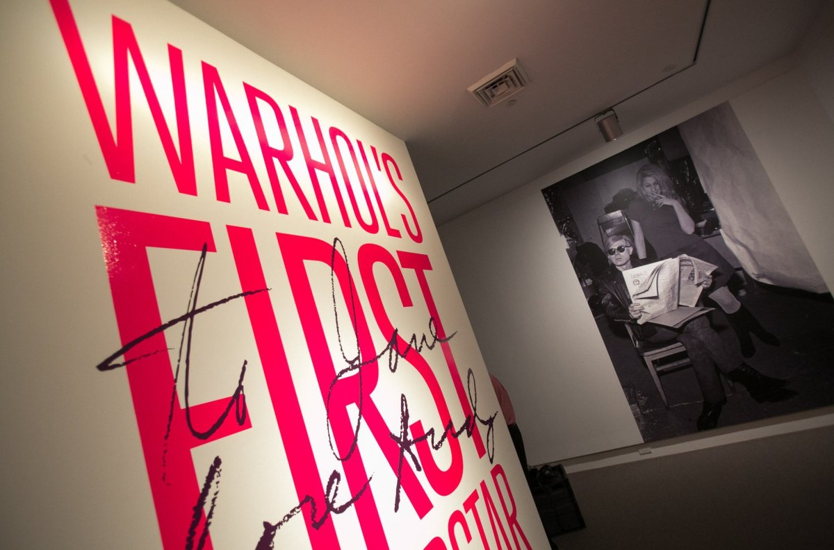 Installation—<em>To Jane, Love Andy: Warhol's First Superstar.</em> Photograph by Jacek Gancarz. Courtesy Norton Museum of Ar