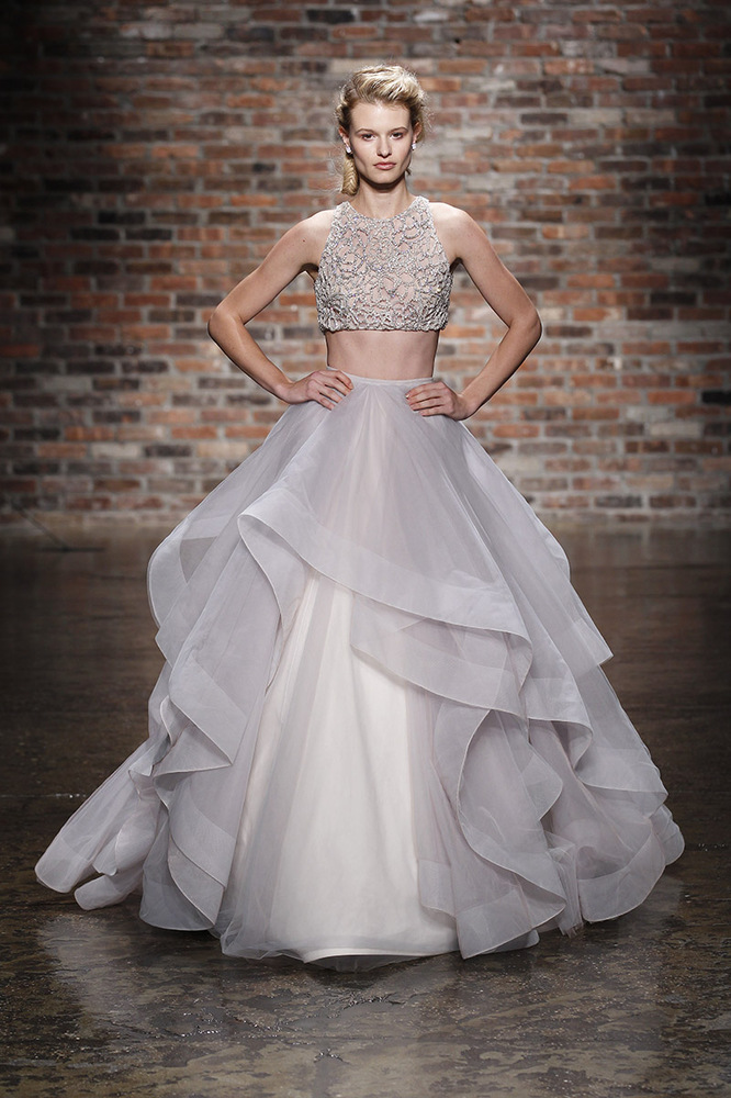 8 Crop Top Wedding Dresses For Only The Most Daring Brides