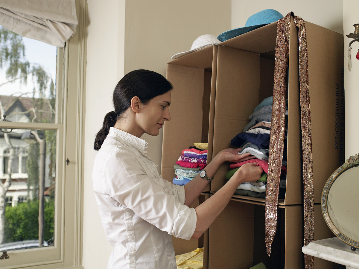 Create a pleasing and efficient organizing system for each of your storage areas  -- clothes, shoes, books, cookware, etc.  -