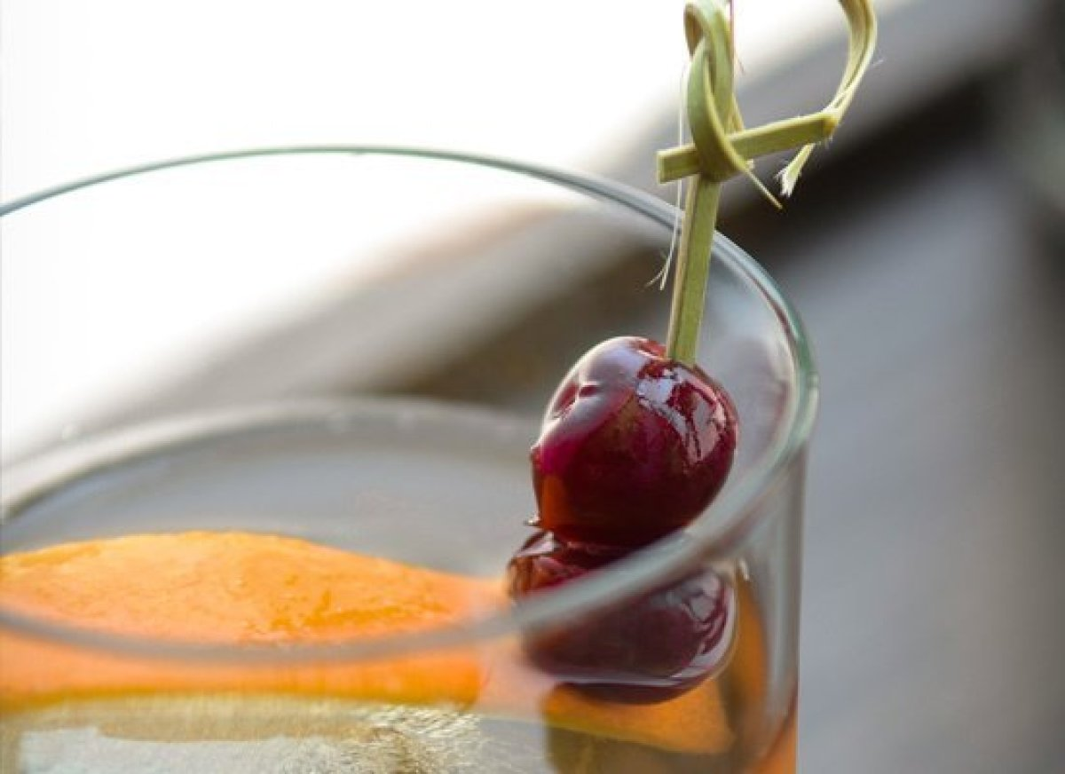"Neon-colored ""cherries"" that taste like Jolly Ranchers can only get you so far. When garnishing a homemade concoction, be sur"
