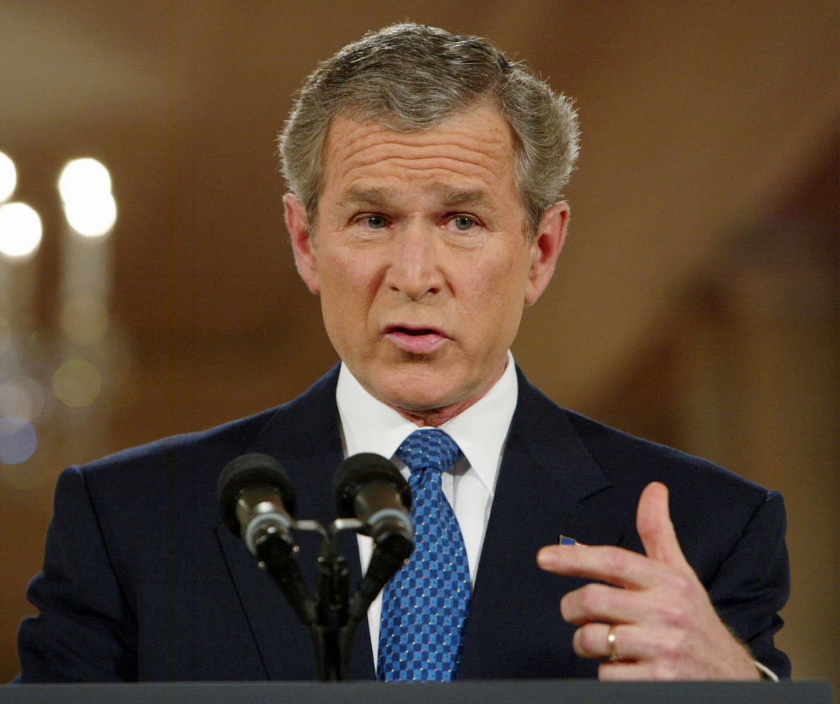 """They misunderestimated me."" - Former President George W. Bush"