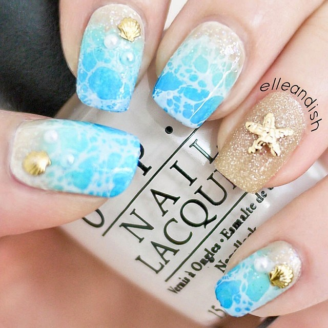 Tropical nail art sunsets sea turtles and sandy beaches photos tropical nail art sunsets sea turtles and sandy beaches photos huffpost prinsesfo Choice Image