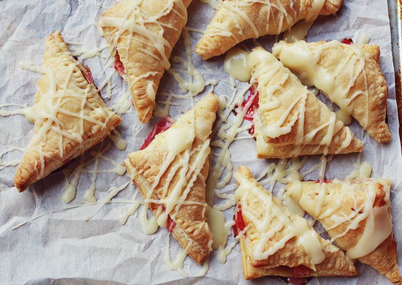"""<strong>Get the <a href=""""http://www.abeautifulmess.com/2012/08/rhubarb-toaster-strudel.html"""" target=""""_blank"""">Rhubarb Toaster"""