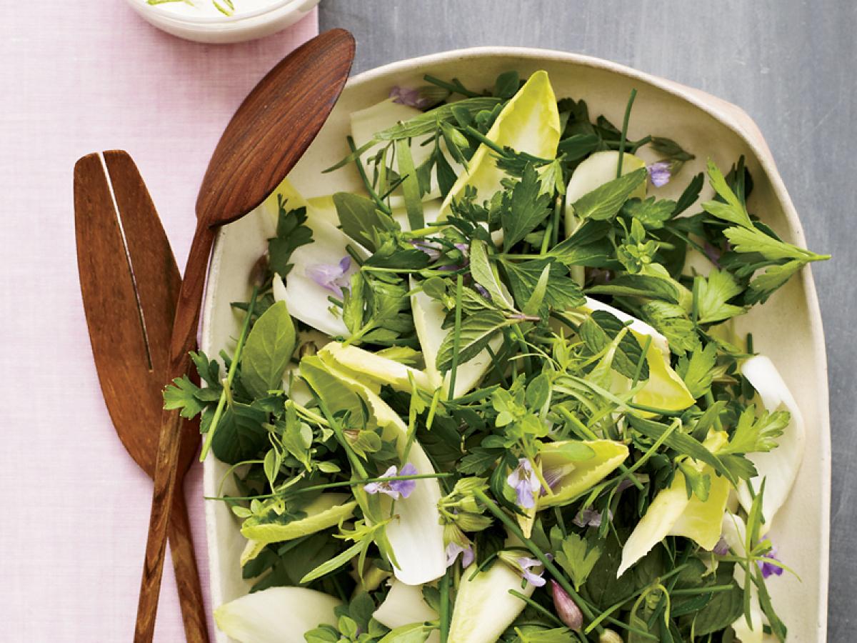 "<strong>Get the <a href=""http://www.huffingtonpost.com/2011/10/27/herb-and-endive-salad-wit_n_1058488.html"" target=""_hplink"">"