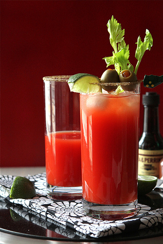 """<strong>Get the <a href=""""http://www.cookincanuck.com/2012/01/the-caesar-cocktail-aka-the-canadian-bloody-mary-recipe/"""" target"""
