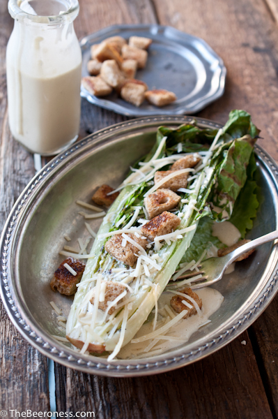 """<strong>Get the <a href=""""http://thebeeroness.com/2013/07/02/grilled-romaine-salad-with-ipa-creaser-dressing/"""" target=""""_blank"""""""