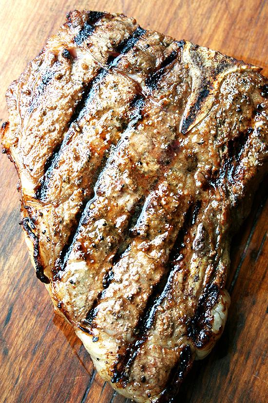 "<strong>Get the <a href=""http://www.alexandracooks.com/2012/05/16/dead-easy-steak-marinade/"" target=""_blank"">Dead Easy Steak"