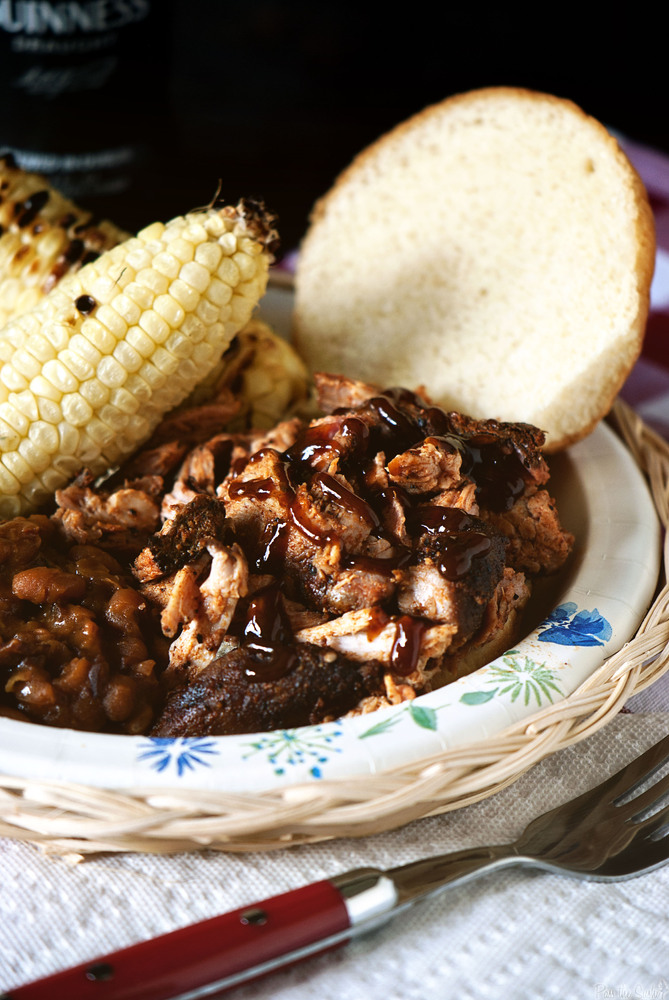 """<strong>Get the <a href=""""http://passthesushi.com/smoked-pulled-pork/"""" target=""""_blank"""">Smoked Pulled Pork</a> recipe from Pass"""