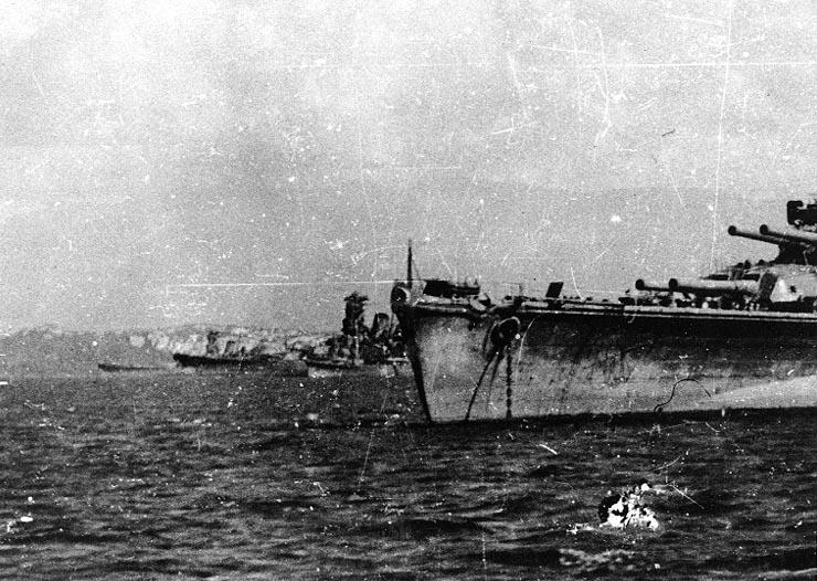 ブルネイでの戦艦大和
