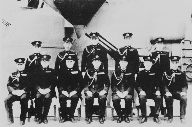 戦艦大和の船員