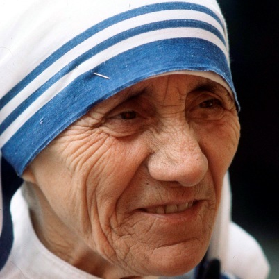 """Known as """"Mother"""" or """"Mother of Humility,"""" Mother Theresa dedicated her life to helping the poor. The Albanian nun will forev"""