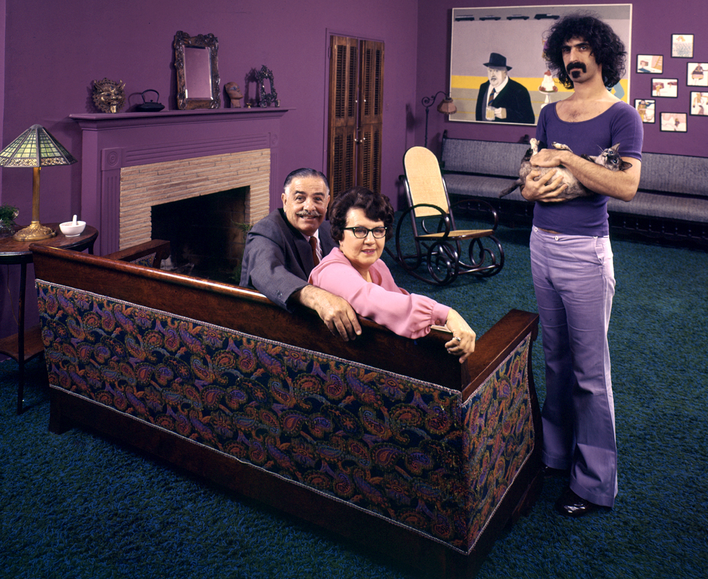 In a famous shoot for <em>TIME Magazine</em> in 1970, Frank Zappa reveals a softer side than his rock star persona. The lead