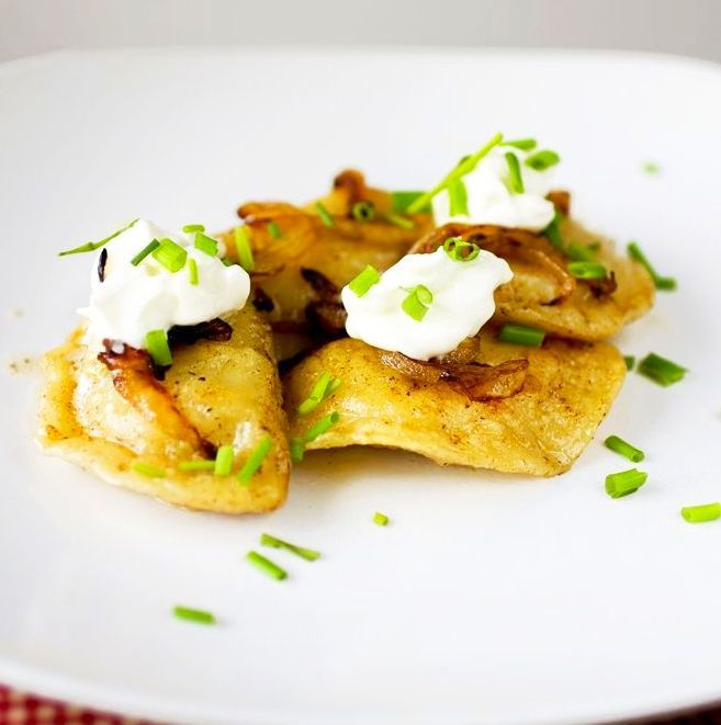 """<strong>Get the <a href=""""http://www.partial-ingredients.com/archives/1610"""" target=""""_blank"""">Pierogi With Crispy Fried Onions r"""