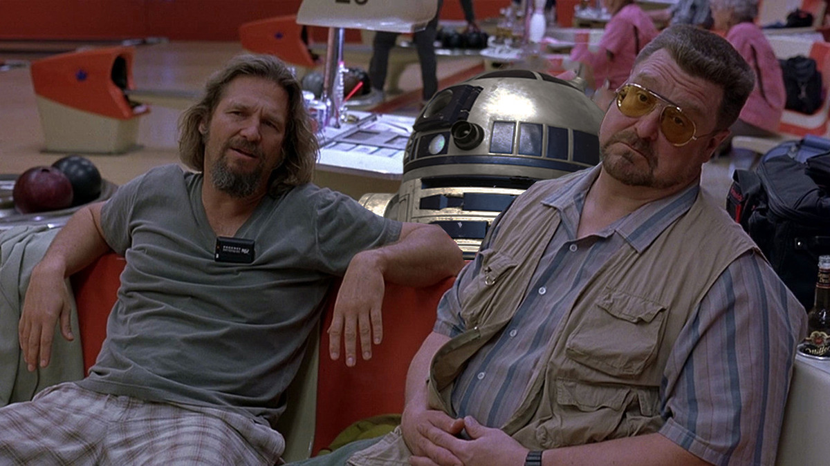 """Hey, what if R2-D2 <a href=""""http://supportingactorr2d2.tumblr.com/"""" target=""""_blank"""">co-starred in ALL the movies? </a>"""