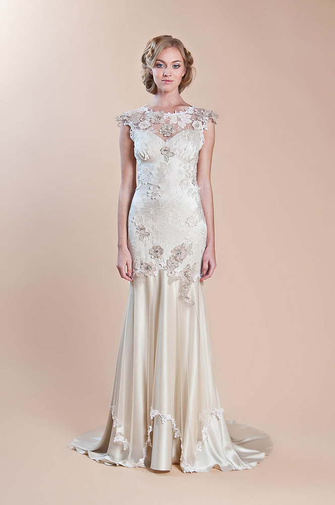 These lace wedding dresses are a spring brides dream come true these lace wedding dresses are a spring brides dream come true junglespirit Gallery