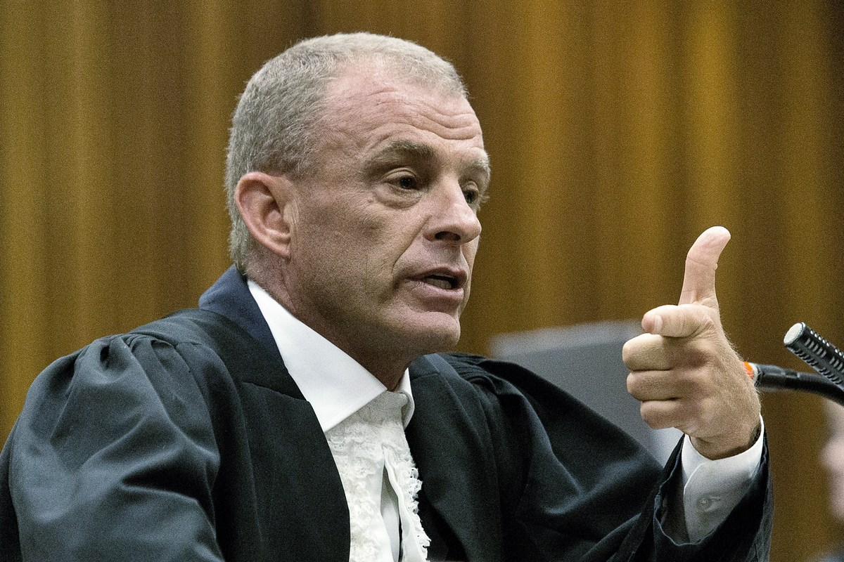 """Prosecutor Gerrie Nel portrayed Pistorius as egotistical and uncaring during cross-examination on Wednesday. """"Your life is ju"""