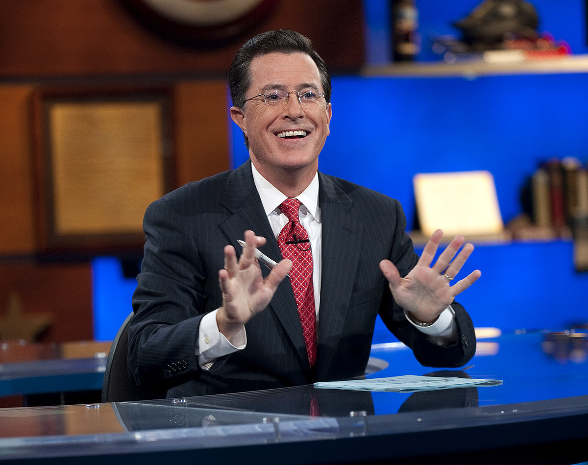 "Though we'll miss ""The Colbert Report,"" we're pretty sure Stephen will be awesome as the host of the ""Late Show."""
