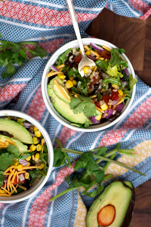 """<strong>Get the <a href=""""http://nutritionfor.us/2014/03/mexican-fiesta-rice-bowls/"""" target=""""_blank"""">Mexican Fiesta Rice Bowls"""