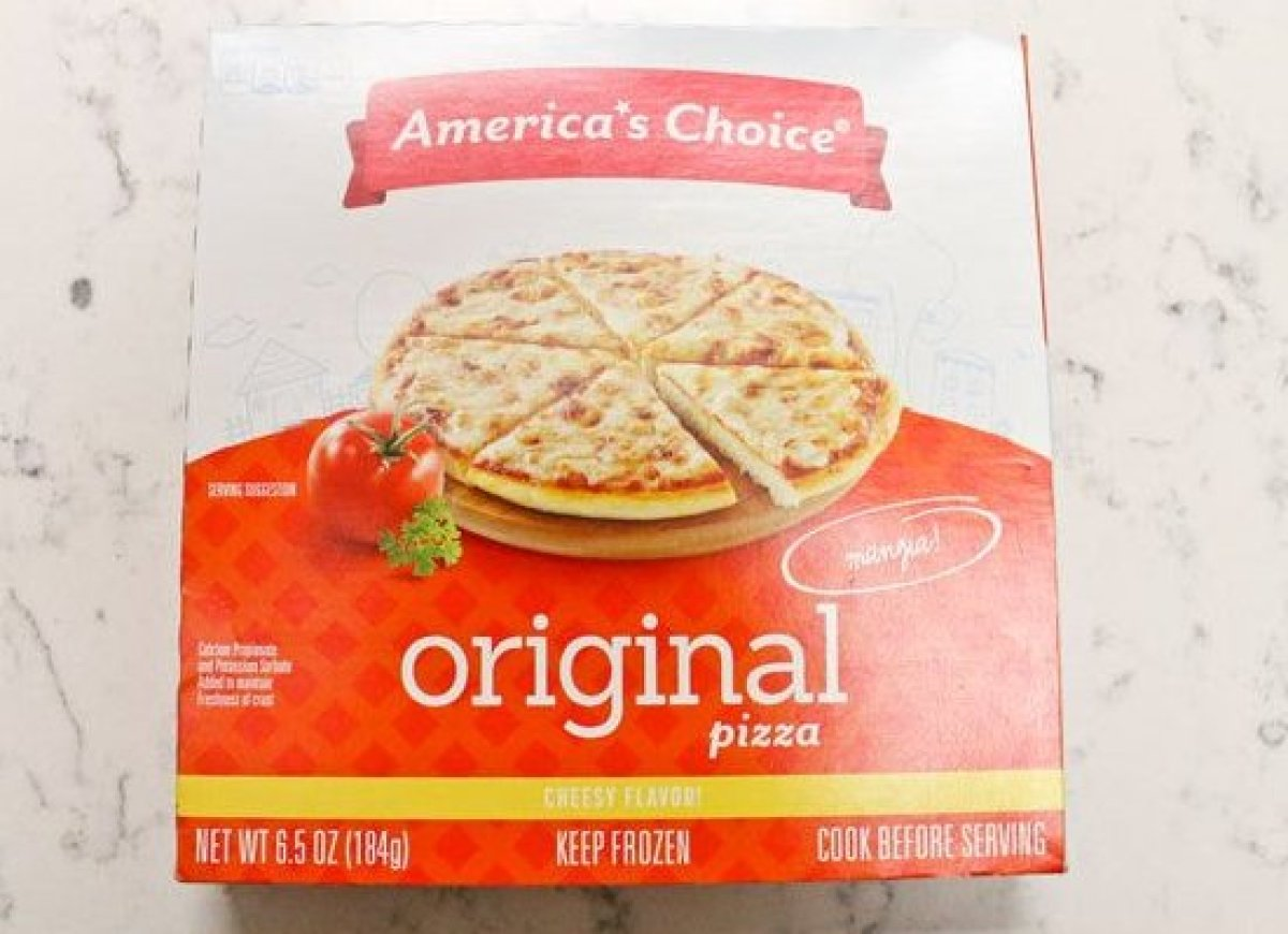 "It appears that this frozen pizza almost lives up to its name. Despite having a ""chemical aftertaste"" according to one taster"